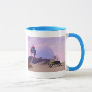 Spielzeug-Mond-Wanderer-Szenen-Tasse Tasse