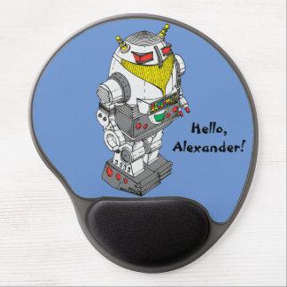 Spielzeug-Roboter-Neuheits-Gel Mousepad Gel Mousepads