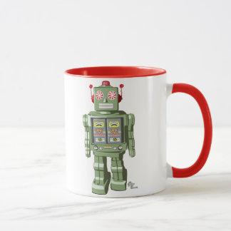 Spielzeug-Roboter-Tasse mit Pfefferminzaroma Tasse