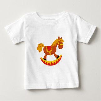 Spielzeug-Schaukelpferd Baby T-shirt