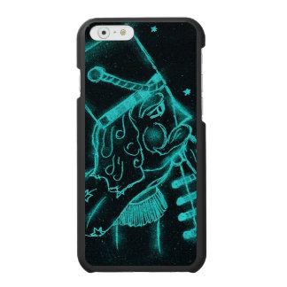 Spielzeug-Soldat im Schwarzen und im Aqua Incipio Watson™ iPhone 6 Geldbörsen Hülle