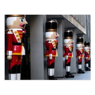 Spielzeug-Soldaten Postkarte