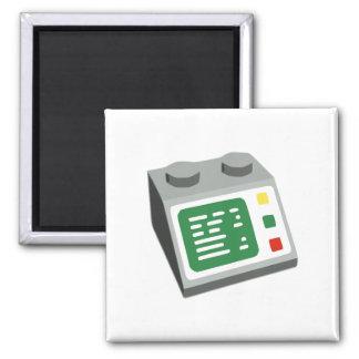 Spielzeug-Ziegelstein-Operatorkonsole Magnete