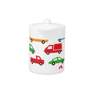 Spielzeugautomuster - Automobilillustration