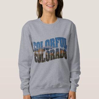 Spiess-Spitze innerhalb bunten Colorados! Sweatshirt