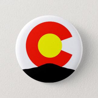 Spiesse Höchstcolorado Runder Button 5,7 Cm