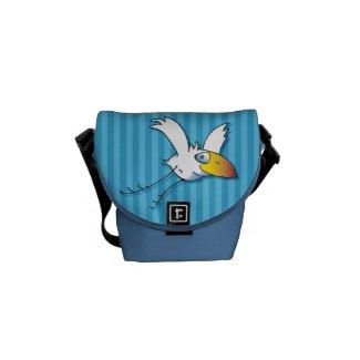 Spiky Mini Kuriertasche Außendruck Messenger Bag