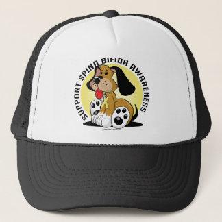 Spina- Bifidahund Truckerkappe