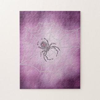 Spinne im Netz Puzzle