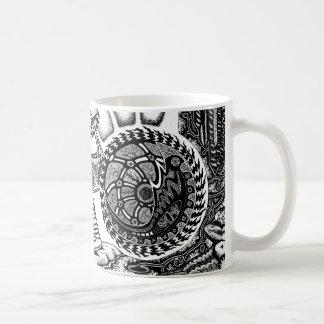 Spinne Kaffeetasse