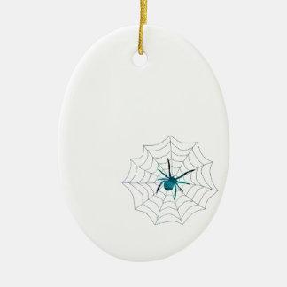 Spinne Keramik Ornament