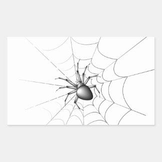 Spinne Rechteckiger Aufkleber