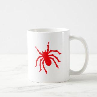 Spinne spider kaffeetasse
