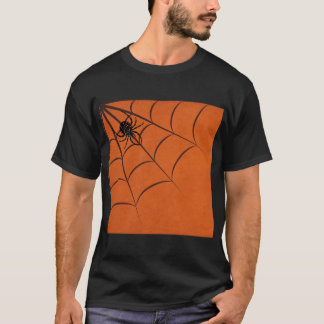 Spinne u. Netz T-Shirt