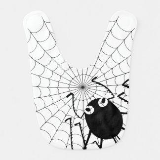 Spinne und Netz Babylätzchen