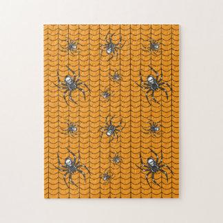 Spinnen auf Parade-Puzzlespiel Puzzle