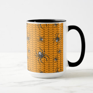 Spinnen auf Parade-Tasse Tasse