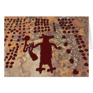 Spinnen-Frau und Kojote Karte