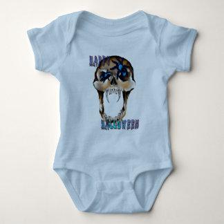 Spinnen-Halloween-Shirt des Schädel-N Baby Strampler