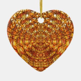 Spinnen-Korbgeflecht: Zieht n behält Energie an Keramik Ornament