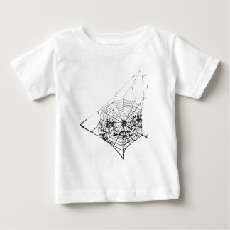 Spinnen-Netz das MUSEUM Zazzle Baby T-shirt