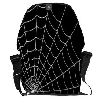 Spinnen-Netz Kuriertasche