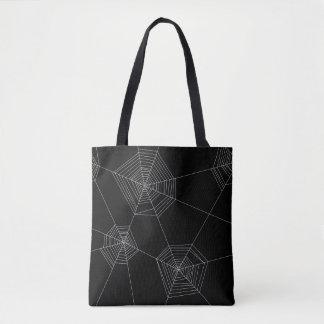 Spinnen-Netz-schwarze Taschen-Tasche Tasche