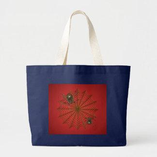 Spinnen-Netz-Tasche Jumbo Stoffbeutel