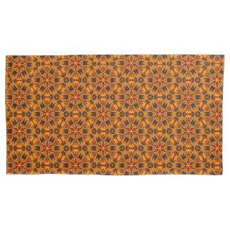 Spinnen-Reißzahn-orange Goldkissen-Hüllen Kissenbezug