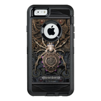 Spinnen-Schutz Steampunk. OtterBox iPhone 6/6s Hülle