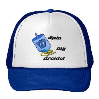 Spinnen Sie meine Dreidel Hüte Truckerkappe