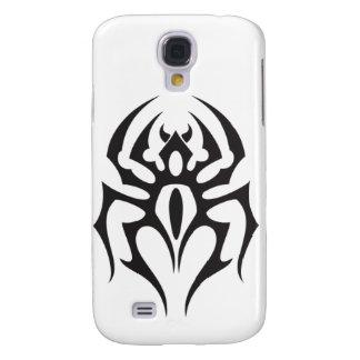 Spinnen-Stammes- Tätowierung Galaxy S4 Hülle