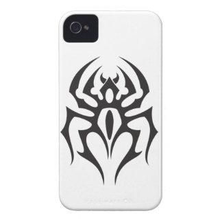 Spinnen-Stammes- Tätowierung iPhone 4 Case-Mate Hülle