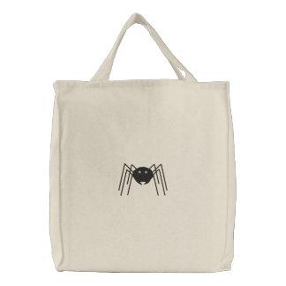 Spinnen-Tasche Bestickte Tragetasche