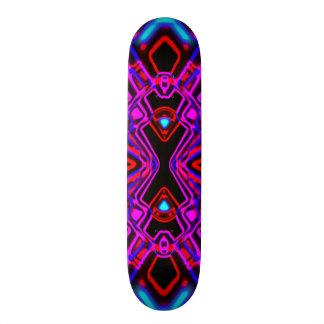 Spinnen-Turbulenz-Mandala 19,7 Cm Skateboard Deck