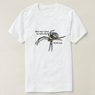 Spinnen-Wortspiel-Shirt T-Shirt