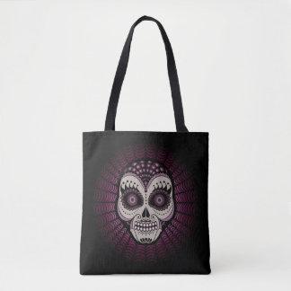 Spinnen-Zucker Skull Dia de Los Muertos - Tasche