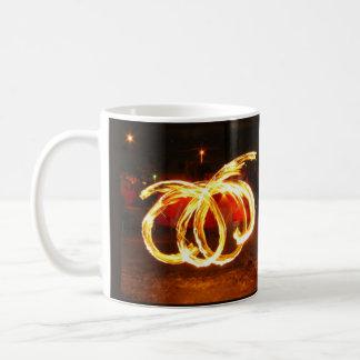 Spinnendes Feuer:  Drache-Personal Kaffeetasse