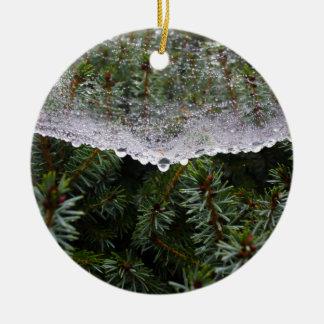 Spinnennetz Keramik Ornament