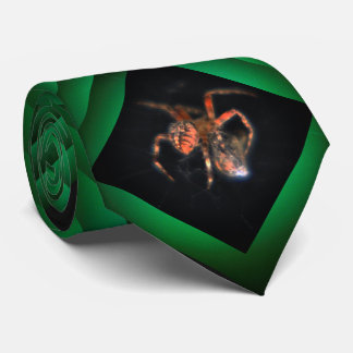 Spinnennetz Krawatte