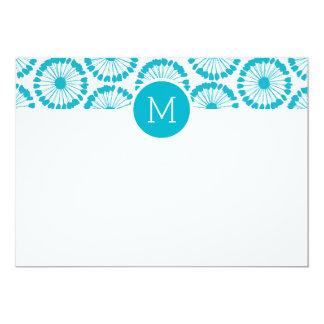 Spinner-kundenspezifisches Monogramm-Briefpapier 12,7 X 17,8 Cm Einladungskarte