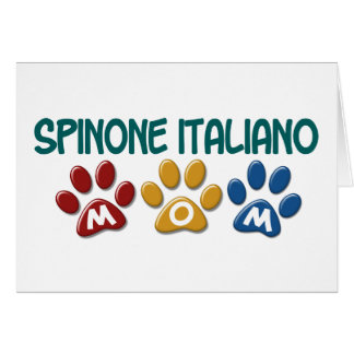 SPINONE ITALIANO Mamma-Tatzen-Druck 1 Karte