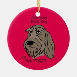 Spinone Nice dog Keramik Ornament