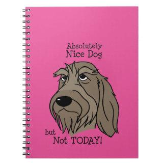 Spinone Nice dog Notizblock