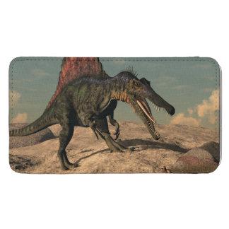 Spinosaurus Dinosaurier, der eine Schlange jagt Galaxy S5 Tasche