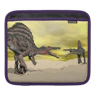 Spinosaurus Dinosaurier Fighting - 3D übertragen Sleeve Für iPads