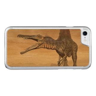 Spinosaurus Dinosaurier in der Wüste - 3D Carved iPhone 8/7 Hülle