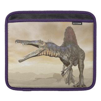 Spinosaurus Dinosaurier in der Wüste - 3D iPad Sleeve