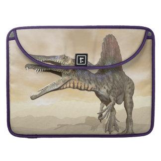 Spinosaurus Dinosaurier in der Wüste - 3D Sleeve Für MacBook Pro