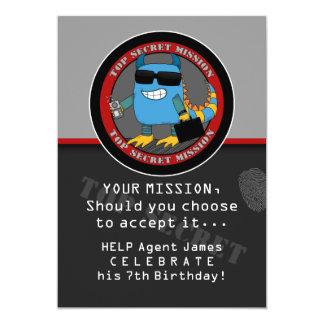 SPION Geburtstags-Party Ankündigungskarte